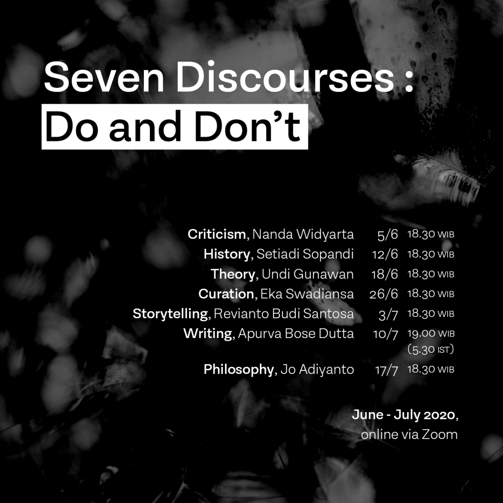 Seven Discourses: Do and Don't